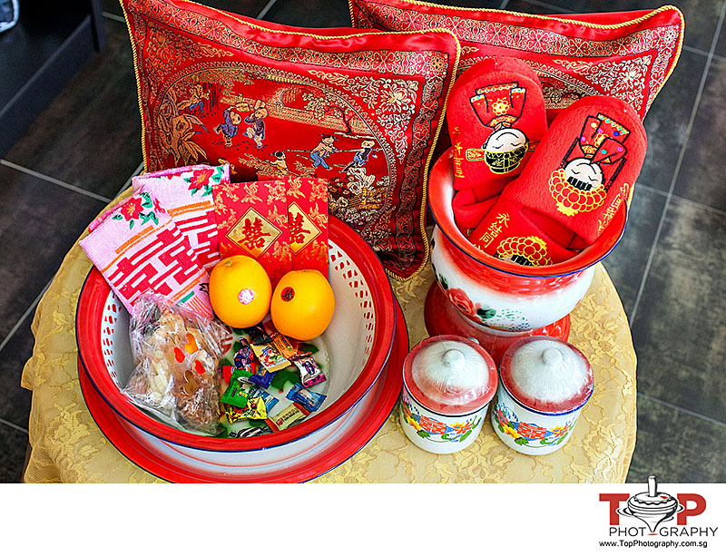 Chinese Wedding Gift Traditions: Betrothal Gift Ceremony 过大礼 (Guo Da Li) For Teochew And
